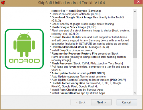 SKIPSOFT ANDROID TOOLKIT TÉLÉCHARGER
