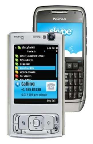 skype pour telephone nokia e66