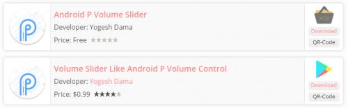 Android P Volume Slider - P Volume Control - 4PDA