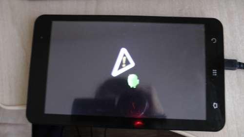 Прошивка На Китайский Планшет Softwinerevb 7 Как Сделать Сброс Горит Значок Андроид С Восклицательным Знаком