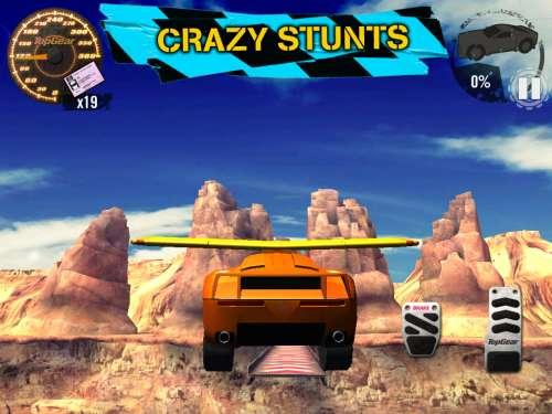 Top Gear Stunt School Revolution Android Скачать