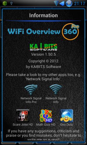 wifi overview 360 pro full