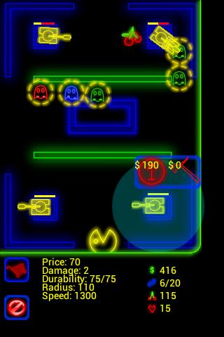 Alf img - showing google pacman game