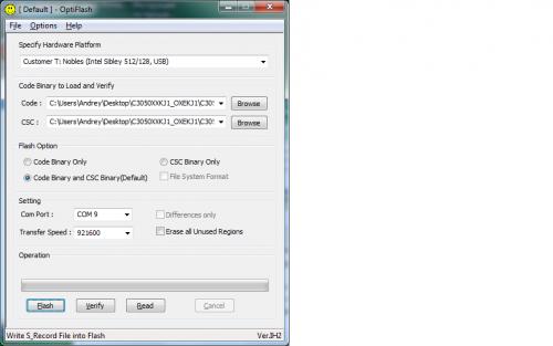 Программа для прошивки samsung c3050