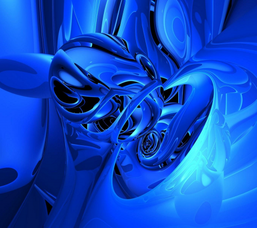 Синие заставки на рабочий стол