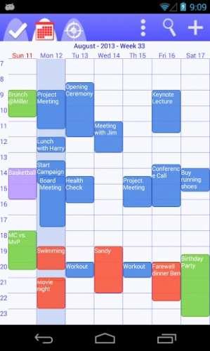 todo calendar planner