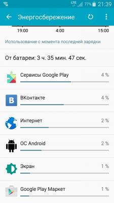 Кто сажает батарею андроид 204