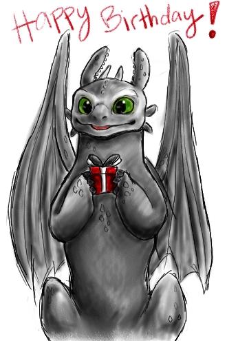 Поздравления с днем рождения с днем дракона
