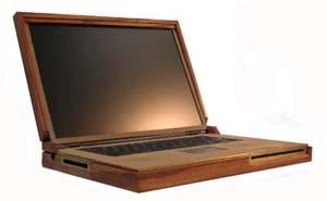 Ноутбук своими руками из дерева