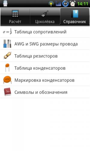 ElectroDroid PRO v4.3 Android 2016 - продвинутый справочник радиолюбителя