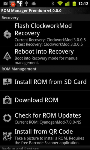 Rom manager 4pda