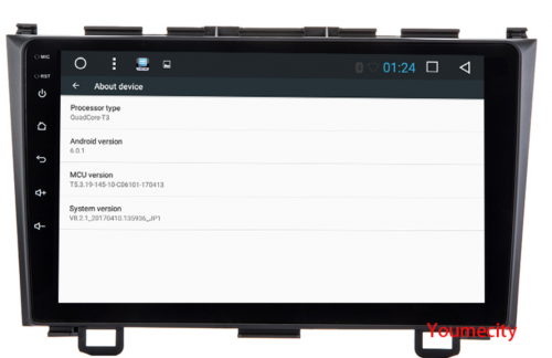 ГУ на Андроид 6 0 х и 7 1 x, платформа Allwinner T3 Quad Core 1 2GHz