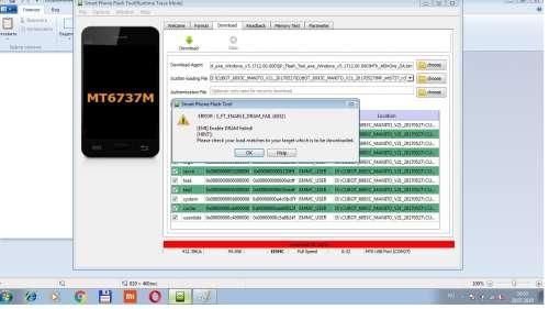 SP Flash Tool - программа-прошивальщик для смартфонов на