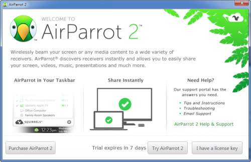 AirParrot - 4PDA