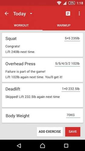 StrongLifts 5x5 Workout - 4PDA