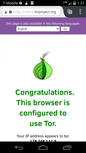 Orfox: Tor Browser for Android - 4PDA
